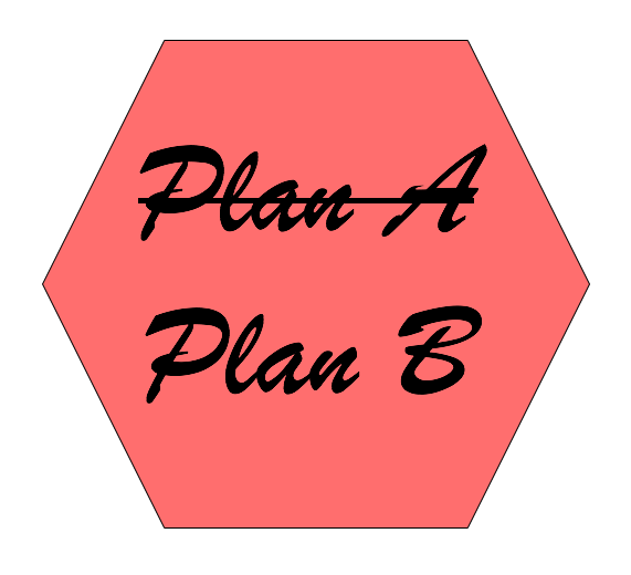 When Nothing Goes Right, Go For Plan B